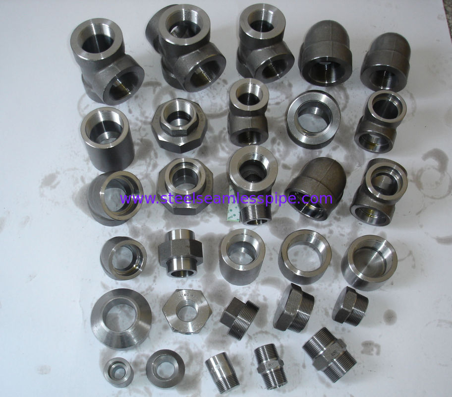 Forged Steel Fittings , Duplex Steel / Nickel Alloy Steel Socket Reducer Inserts