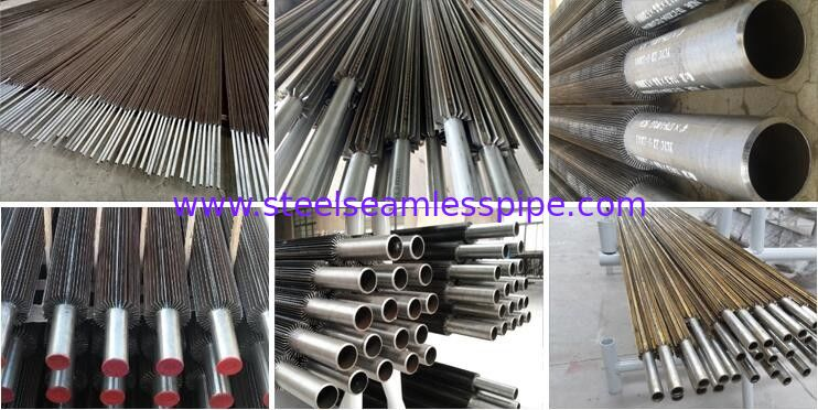 Fin tubing&finned pipe projects(Wound Type,Extruded Type,Welding Type)in Refrigeration and & Heat exchang Parts