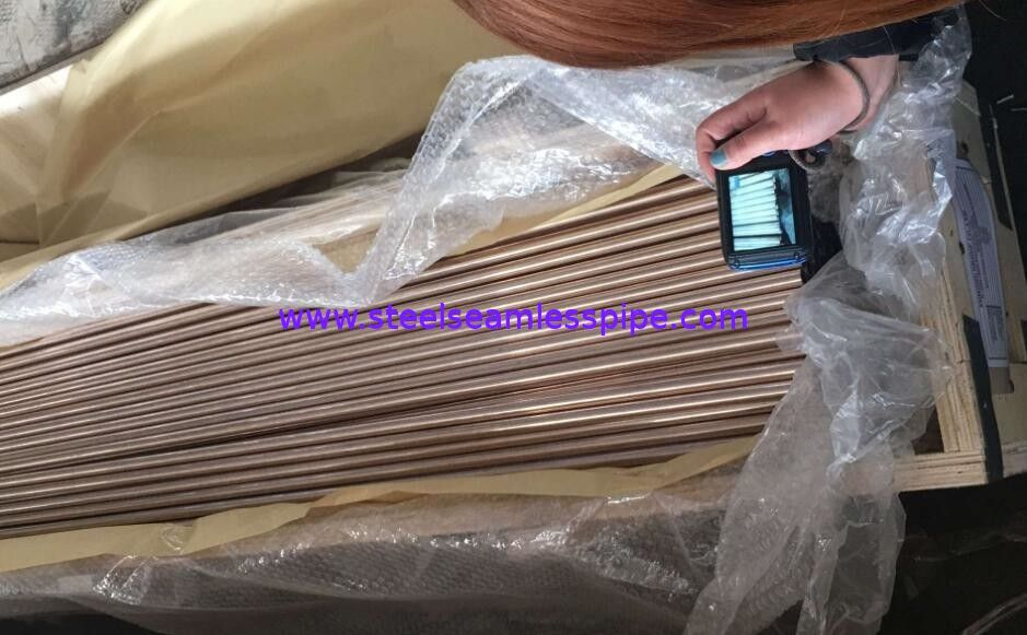 Straight Copper Tube ASTM B111 O61 C70600 C71500 Used for Boiler, Heat Exchanger, Air condenser 19.05*2.11*6096mm