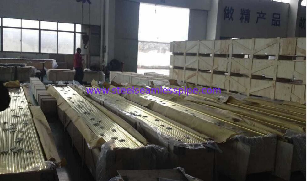 C70400 C70600 C10200 Copper Alloy Tube ASTM B88 ASTM B688 Copper Nickel Tubing