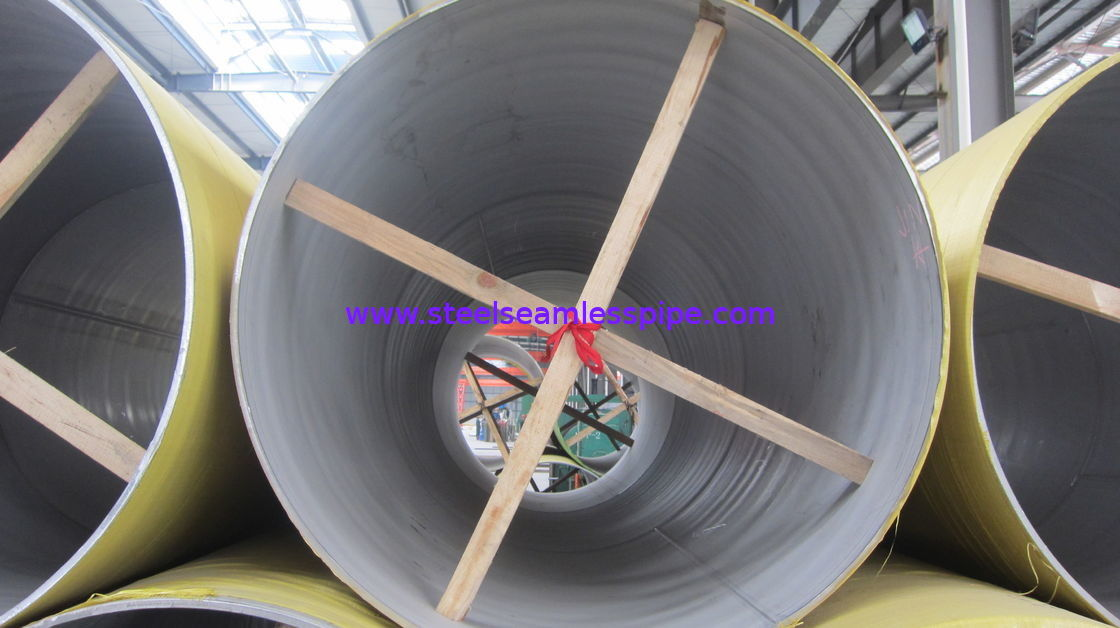 Durable Stainless Steel Welded Pipes High Strength For Chemical Industry
