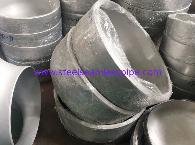 Duplex Steel Butt Weld Fittings Asme B16.9 End Cap With High Strength