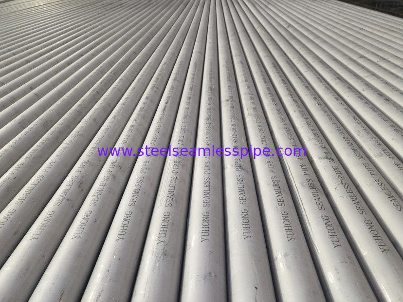 Hot Finished Stainless Steel Seamless Pipe ASTM A312 / A312M-17 24'' Sch10