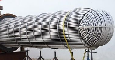 Cina Heat Exchanger (Intercambiador de calor) Air Cooler Condenser Seamless Tube 100 ET / HT / UT pabrik